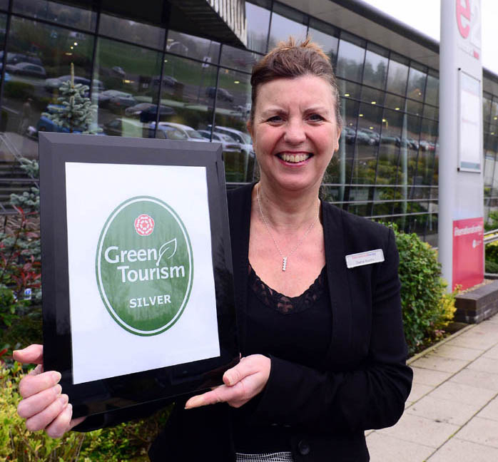 Silver success for The International Centre